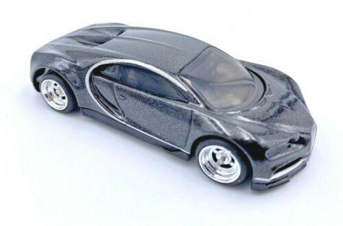 Hot Wheels Bugatti Chiron Custom Wheels Real Riders Black