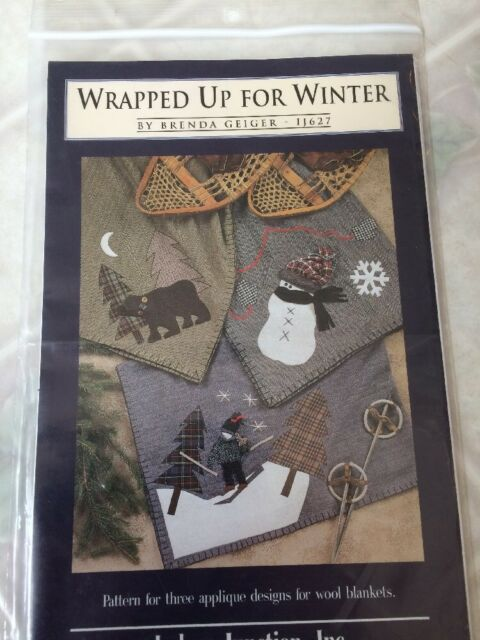 Indygo Junction Inc Wrapped up for Winter Applique Designs for Blankets  Ij627
