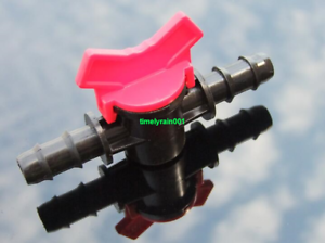 1pcs 8mm water flow regulator Straight through the valve Water pipe switch