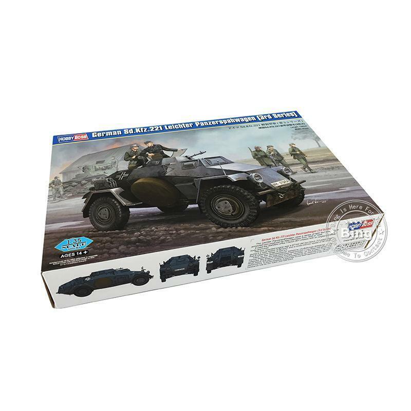 83812 HobbyBoss 1 35 Sd.Kfz.221 Leichter Panzerspahwagen 3rd Armored Car Tank