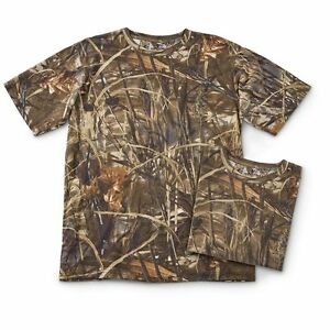 0ed5d43f Image is loading Ranger-Realtree-Max-4-Camo-Hunting-Short-Sleeve-