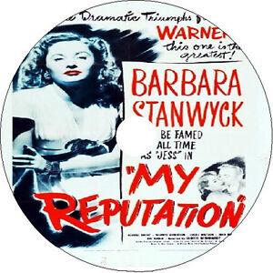 My Reputation DVD Barbara Stanwyck George Brent Eve Arden 1946