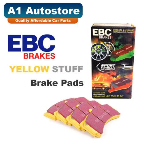 3.6 GT3 2006-2009 EBC Yellowstuff Front Brake Pads DP41516R PORSCHE 911 997