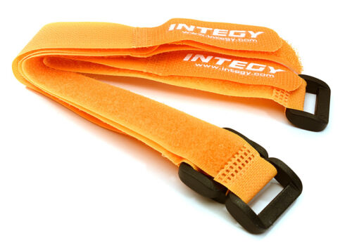 RC Car C27935ORANGE 20x200mm Battery Strap(4)for RC Car Boat RC Heli & Airplane