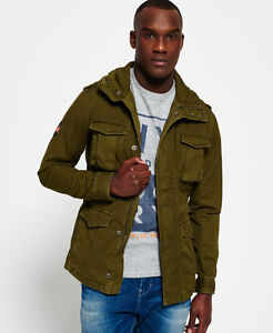 Mens superdry military style jacket