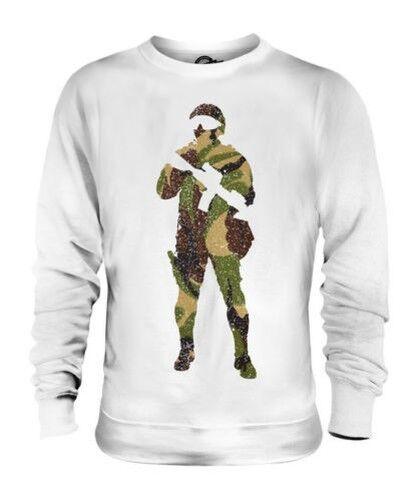 Britisch Tarnung Soldaten Unisex Pullover Top Geschenk Armee