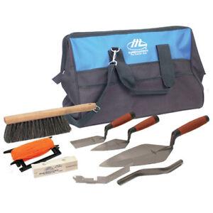 Marshalltown-16204-Bricklayer-Apprentice-Tool-Kit-with-Nylon-Bag