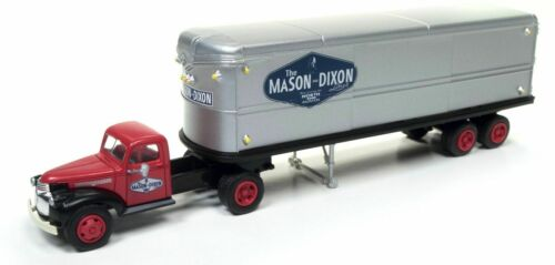 Mason Dixon HO Classic Metal Works #31174  1941-1946 Chevrolet Tractor Trailer