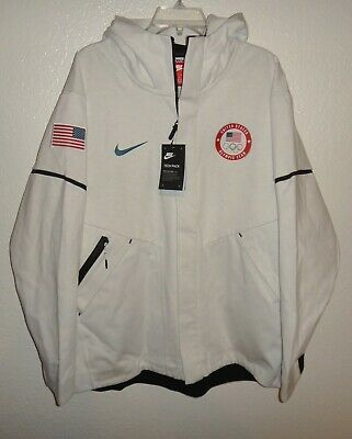 NWT MENS XL NIKE TECH FLEECE WINDRUNNER 2018 TEAM USA OLYMPIC JACKET $275 HOODIE | eBay