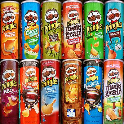 Pringles Super Stack Potato Crisps Chips ~ One Canister