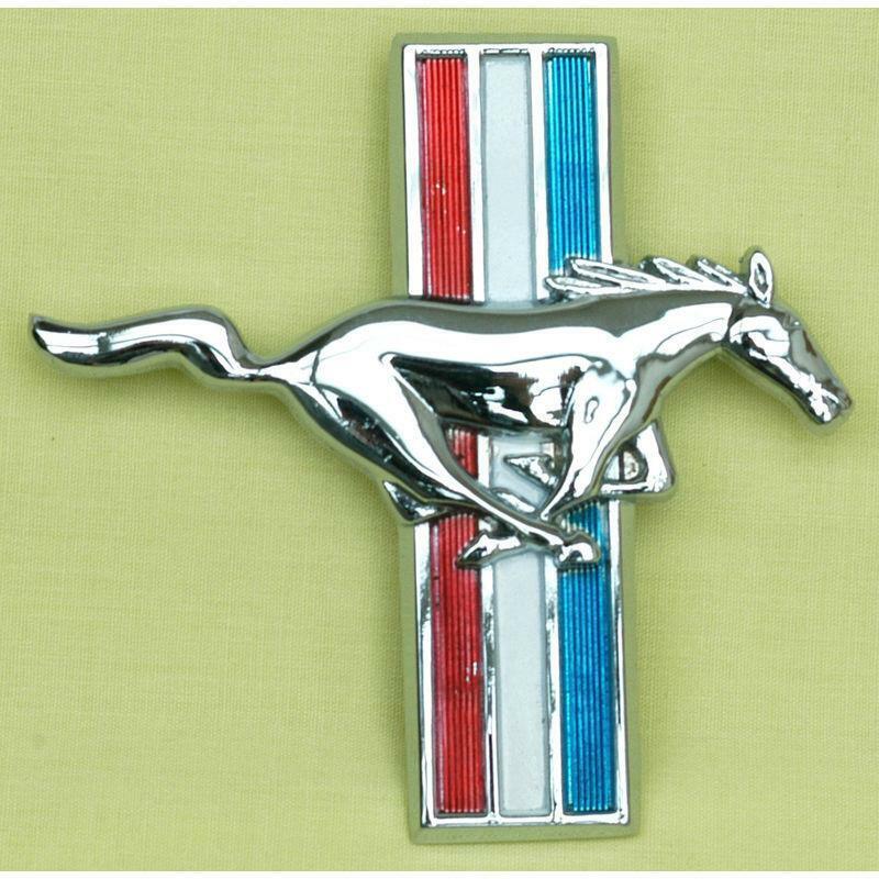 NOS NEW 1999 Mustang 35th Anniversary LH Front Fender Emblem XR3Z-16228-BA