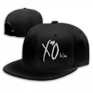 The-Weeknd-Xo-Logo-Snapback-Baseball-Hat-Adjustable-Cap