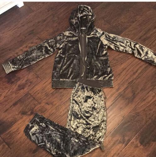 Mystree Velvet Track Suit