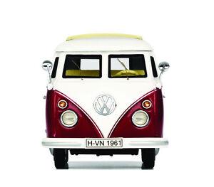 ORIGINAL-VW-T1a-T1c-Samba-Bus-Schuco-ROUGE-1964-1-43-231099300e-Y3D-NOUVEAU