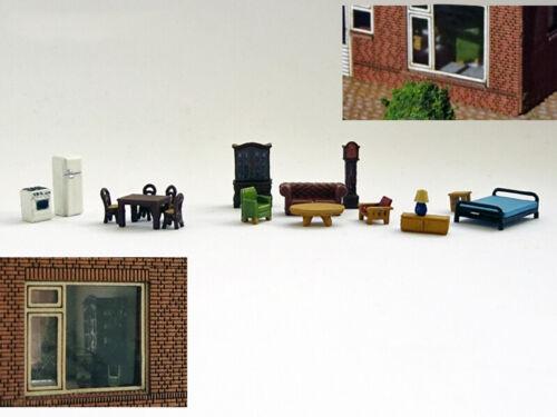 Railnscale n3505-Set meubles-PISTE N-Neuf