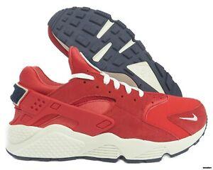 522f8ac7dd76 704830-602 Nike Air Huarache Run Premium (University Red   Sail) Men ...