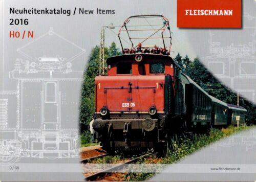 Fleischmann 991620 novità catalogo novità catalogo 2016 traccia h0 N-NUOVO