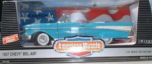 1-18-Ertl-1957-Chevy-Convertible-Blue-40-Anniversary-Item-7026