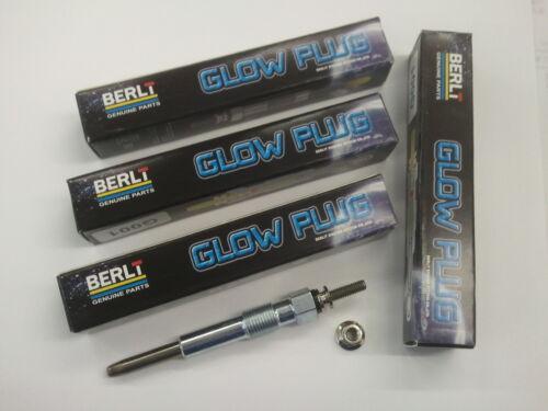 PEUGEOT 306 1.9 02//99-08//01 Set de chauffage Glow Plug X4