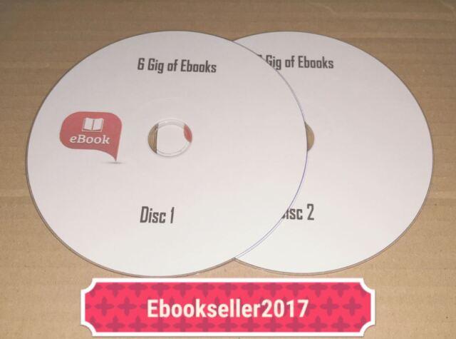 EBOOK oltre 6 GIG su 2 dischi e i diritti di rivendita quasi 2000 EBOOK GRATIS UK