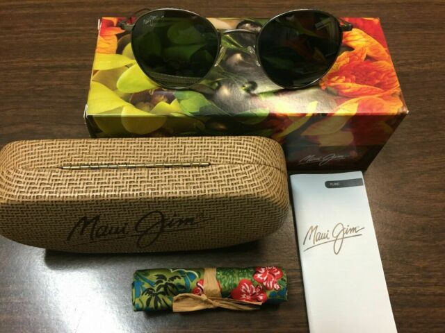Maui Jim North Star Polarized Matte Silver Classic Frame Sunglasses