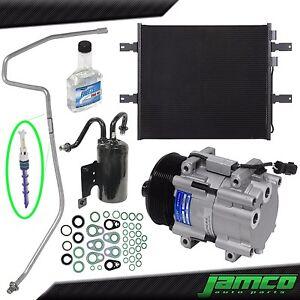2006 2007 2008 2009 Dodge Ram 2500 3500 5.9L Diesel New A//C AC Compressor kit with Condenser 1 Year Warranty