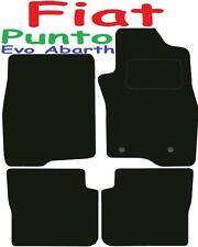 FIAT PUNTO EVO ABARTH Deluxe qualità su misura tappetini 2009 2010 2011 2012 2013 2014