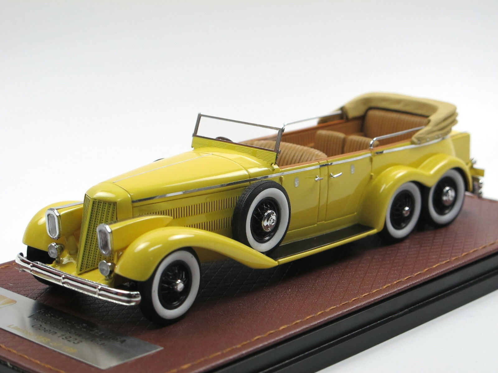 GLM 1923 Hispano-Suiza h6a Victoria 6-Wheels Town Car-Coupe de Ville Open 1/43