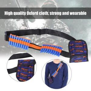 Tactical-Waist-Shoulder-Strap-Bag-Gun-Darts-Bullet-Belt-Pouch-For-N-strike