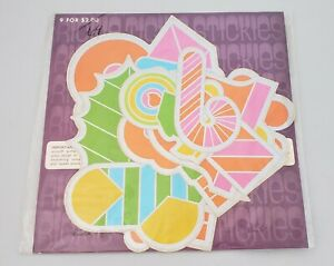 9-RICKIE-TICKIE-STICKIES-1968-STICKERS-Rare-Psychedelic-Holiday-Hippie