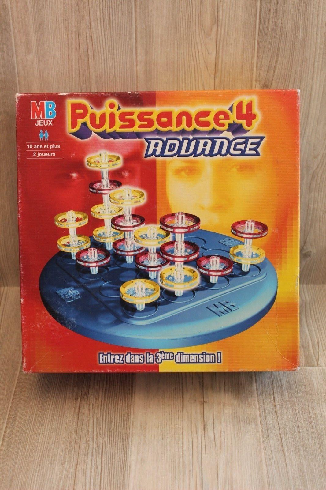 RARE   Jeu de Société - Puissance 4 Advance (en 3d) - complet 2002