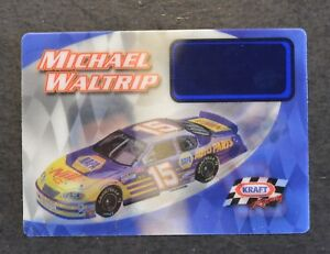 Image Is Loading 2003 Postoken Postopia Kraft Michael Waltrip Racing Hologram