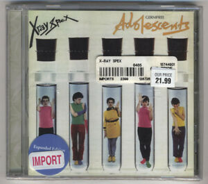 X-Ray-Spex-Germ-Free-Adolescents-CD-2005-Expanded-Edition-Brand-New-Hype