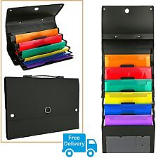 Mail Organizer Wall Mount Office Letter Storage File Sorter Folder Holder Rack