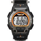 (Black) - Timex Men's Ironman Shock 30-Lap Watch, Black Resin Strap