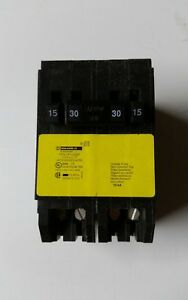 NEW Square D Homeline 30-Amp 2-Pole Quad-Pole Tandem Electrical Circuit Breaker