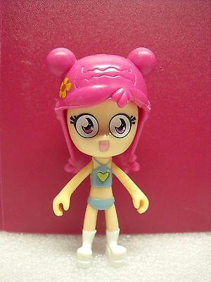 "2005 Yumi 3"" Action Figure Hi Hi Puffy Amiyumi Yumi Rock On Cartoon Network"