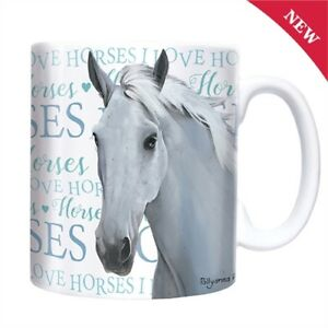 I-Love-Horses-Mug-Ceramic-A-Great-Gift-for-a-Rider-Horse-Lover-New-Boxed