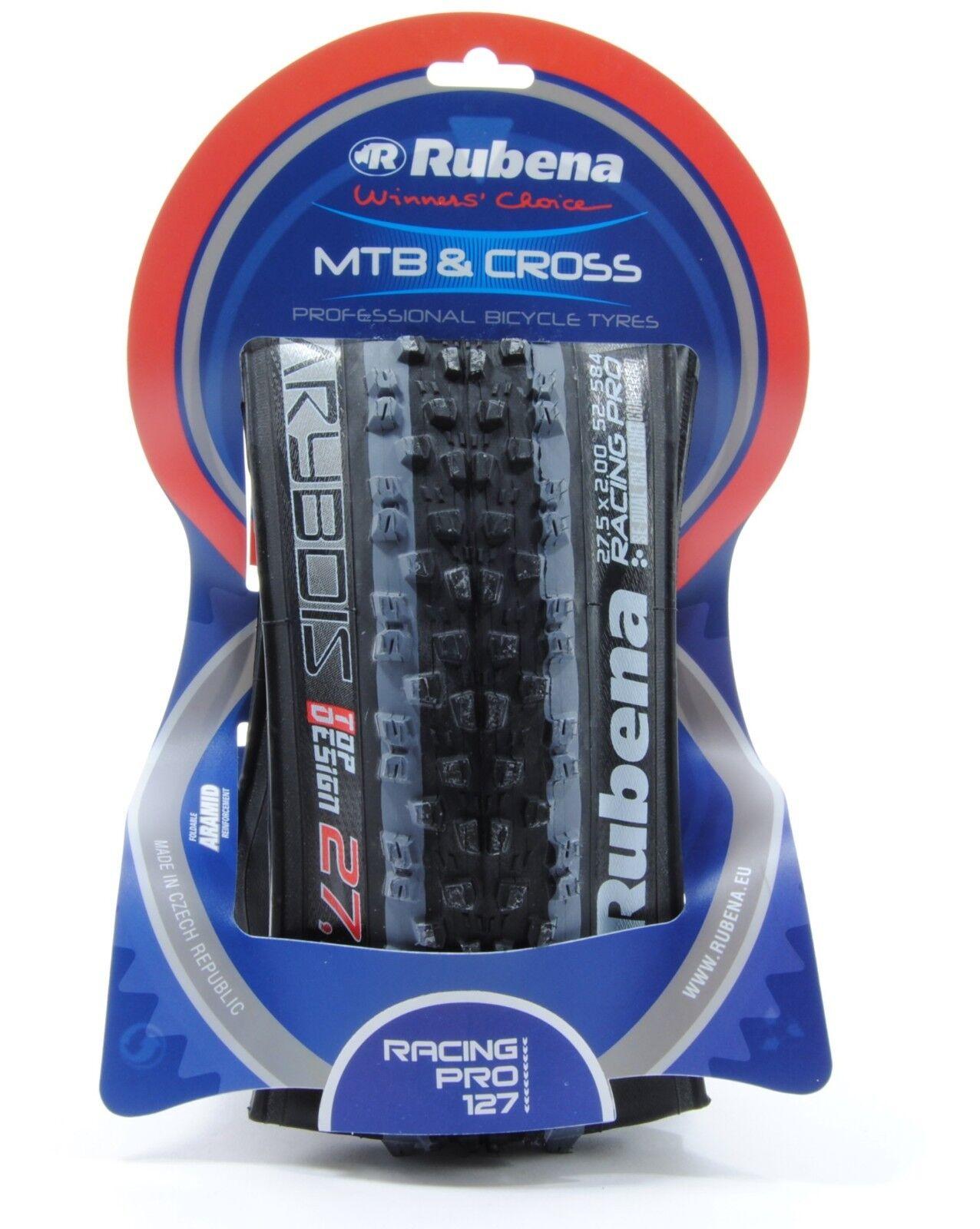 Rubena Racing Pro 650B Folding Mountain Bike Tire 27.5 x 2.0 27.5x2.0 520 GRAMS