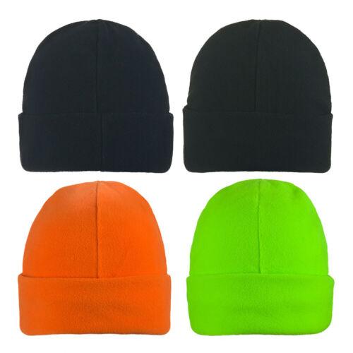 KIDS Beanie Hat Boys Girls Micro Fleece Winter hat Woolly Ski Childrens