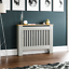 thumbnail 42 - Radiator Cover White Unfinished Modern Traditional Wood Grill Cabinet Furniture