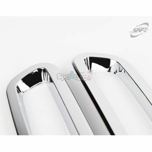 K-517 New Chrome Rear Molding Cover Set Guard for GM Chevrolet Trax 2013+