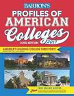 Profiles of American Colleges: 2017 by Barron's College Division (Paperback, 2016)
