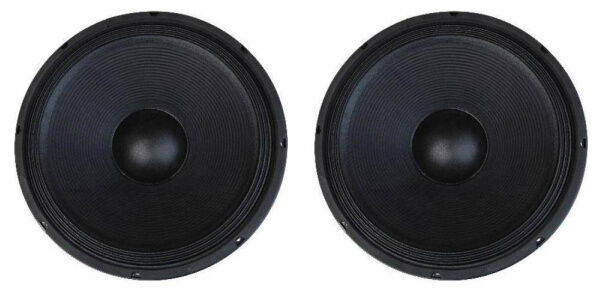 """NEW (2) 15"""" Subwoofer Replacement Speakers.4ohm Woofers.Home Pro Audio Bass.PAIR"""