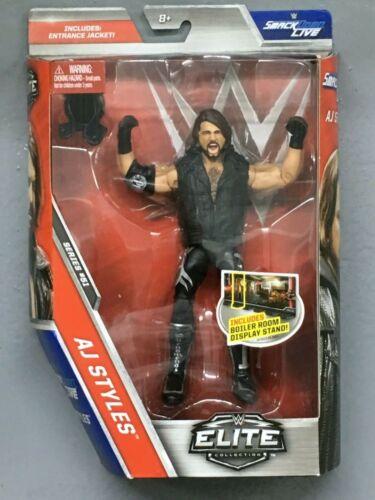 WWE Mattel AJ Styles Elite Series #51 Figure