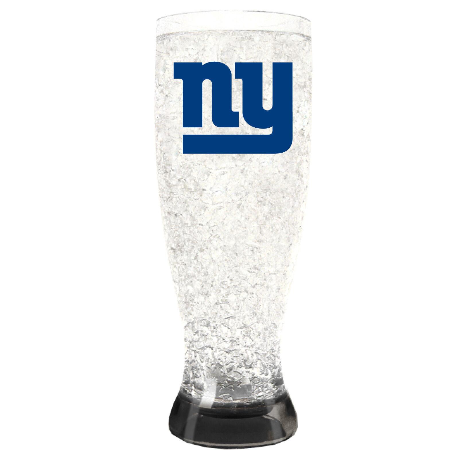 NFL New York NY Giants Bier Weizen Glas Crystal Crystal Crystal Gefrierschrank Weizenglas Pils 0ec6ad