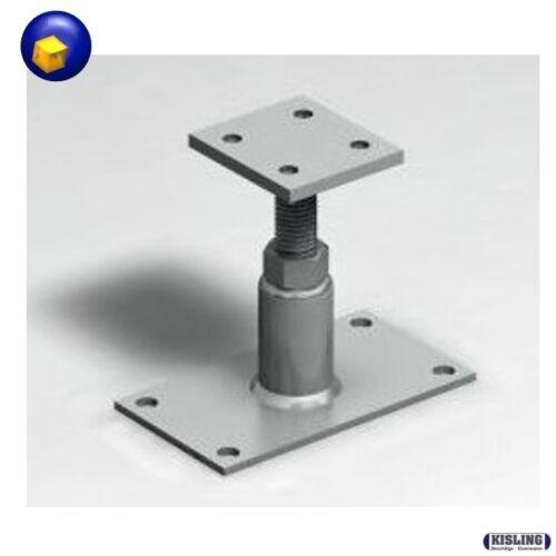 Stützenfuß Pfostenträger Höhenverstellbar von 135-215 mm Carport Stützfuss