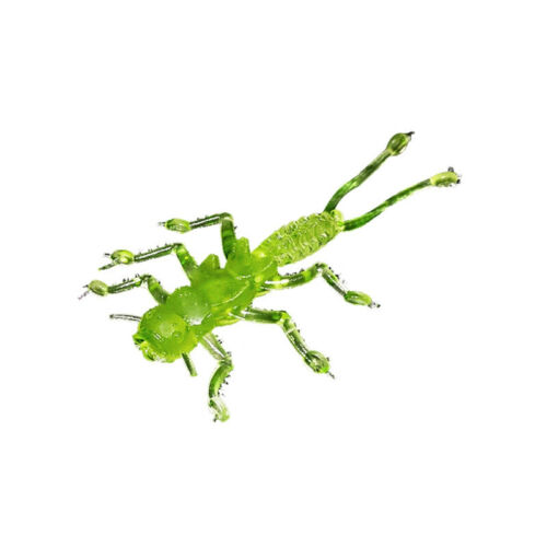 "35mm Microkiller Caddis Fly 1.4/"" // Rockfish Micro Jig Soft Plastic Bait Lure"