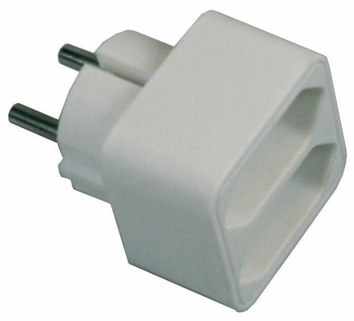 # 3 Stück Steckdosen 2er Kupplung für LED Lichtschlauch Multistecker SCHUKO Y Z