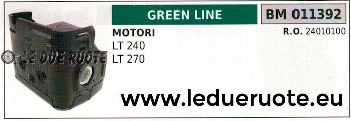 24010100 SCARICO MARMITTA SILENZIATORE MOTORE GrünLINE GrünCUT LT 240 270